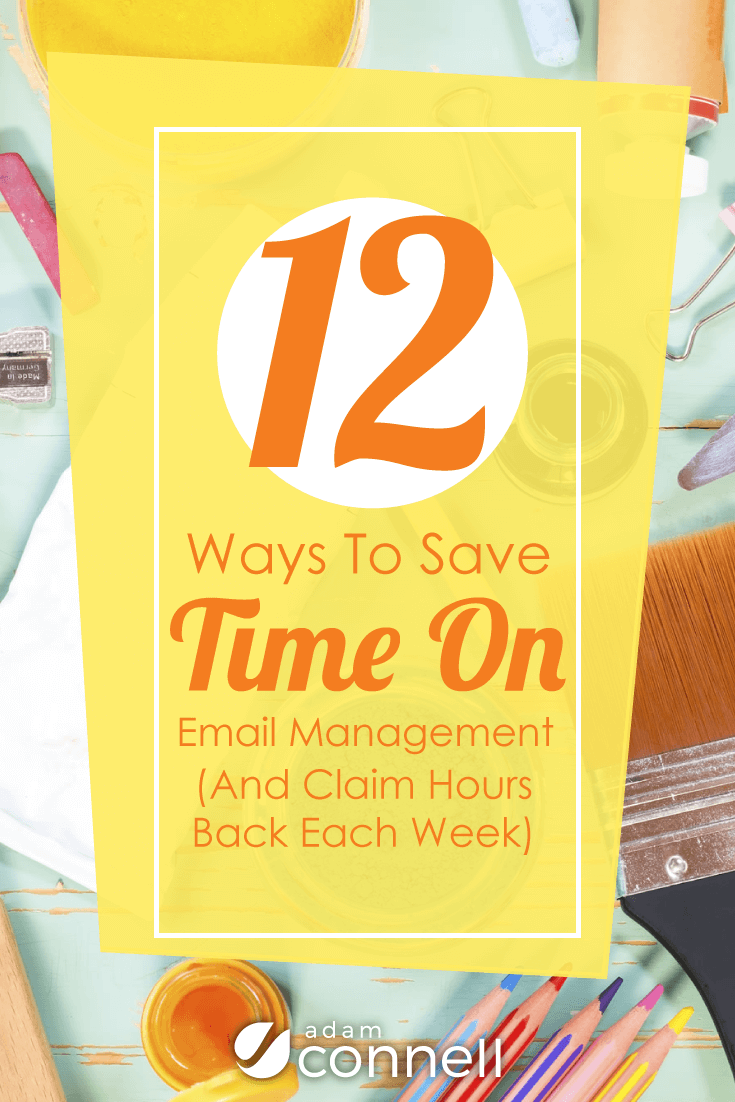 Want to claim back hours of your time from email management? You can! Click this post to discover how...